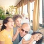 مع أحفادى